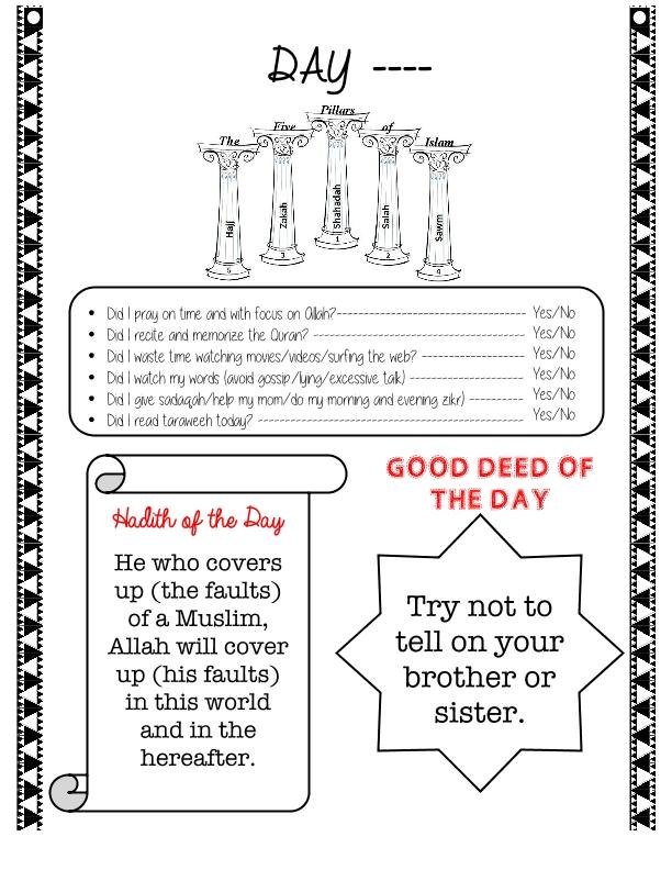 19-Ramadan Journal Final
