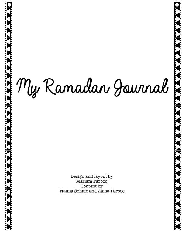 2-Ramadan Journal Final