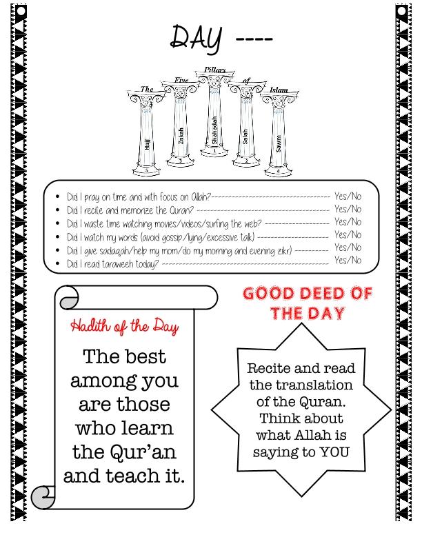34-Ramadan Journal Final
